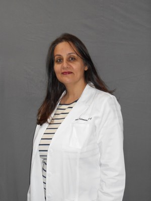 Sharareh Salamian lab coat